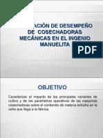 EVALUACION DEL SISTEMA DE COSECHA MECANIZADO 6