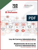 Ley Carrera Administrativa Reglamento