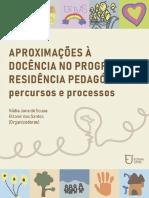 E-book Aproximações à docência no Programa Residência Pedagógica