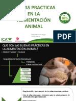 Buenas Prácticas en La Alimentación Animal - Javier Vargas