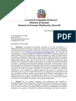 Carta de Intencion del Banco Central al FMI