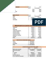 Presupuesto de Operacion