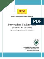 Pencegahan Thalassemia