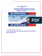 50067616-Aircel-project-report