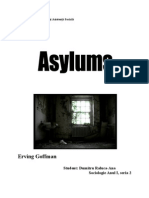 Asylums Erving Goffman