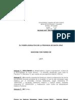 606-09 Declaración de utilidad pública y  expropiación –a favor de la Municipalidad de PM