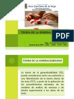 CAPITULO  6  TEORIA DE LA GENERABILIDAD
