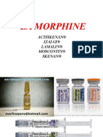 2..La Morphine