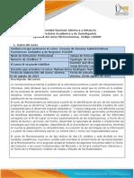 Syllabus de Curso Microeconomía