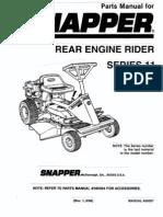 Snapper Parts Manual