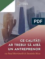 5. Ce Calit i Ar Trebui s Aib Un Antreprenor