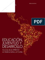 Lectura Educación, Juventud y Desarrollo UNESCO
