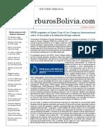 Hidrocarburos Bolivia Informe Semanal Del 28 Marzo Al 03 Abril 2011