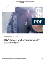 ¿Cuáles son las diferencias entre el análisis técnico y el fundamental_