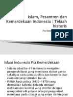 Pesantren Dan Kemerdekaan Indonesia