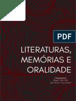 Literaturas, Memórias e Oralidade (2)