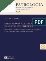 Eliane Poirot - Saint Antoine Le Grand Dans L'orient Chrétien Dossier Littéraire, Hagiographique, Liturgique, Iconographique En Langue Française (2014, Peter Lang) - libgen.lc