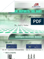 Event Reports - SEL 5601