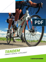 Cannondale Tandem Manual