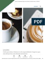 Cafés porteños. Clásicos vs de especialidad