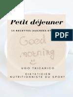 E Book Petit Déjeuner