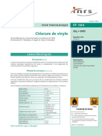 2007_Fiche toxicologique chlorure de vinyle