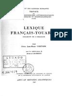 Lexique Francais Touareg