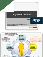 Ergonomi Industri - Human Error