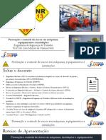 Prevenção Controle de Riscos Em Máquinas Equipamentos Instalações UNIFIP 100321
