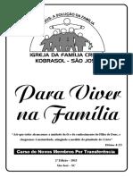 Apostila de  Integração 5ª Edição - 2015