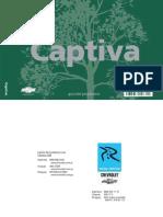 [CHEVROLET] Manual de Propietario Chevrolet Captiva 2008
