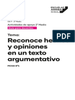 Hecho Opinion Ministerio Docente