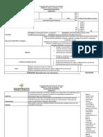 formato  Planeación Pedagógica número 3