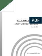 Manual Do Usuario ZTE ZXV10 H108L