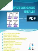 1. Ley de Los Gases Ideales