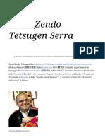 Carlo Zendo Tetsugen Serra