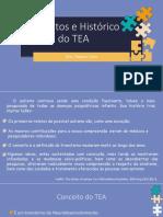 CONCEITOS E HISTÓRICO DO TEA