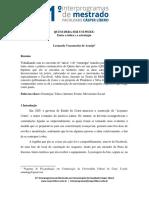 Artigo QUEM DERA SER UM PEIXE- Entre Taticas e Estrategias