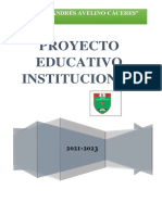 Proyecto Educativo Institucional Aac