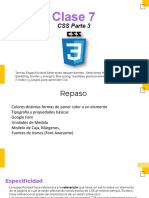 Clase 07 CSS