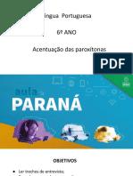 6º Ano_103_Acentuação Das Paroxítonas