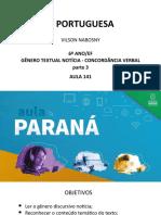 Língua _ Portuguesa_6 Ano_ Slide_ Aula141