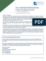 Preliminary Investigation Report B744F - N571UP 03Sep2010 Dubai
