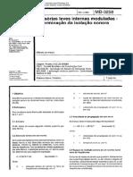 NBR 3258-Divisórias Internas