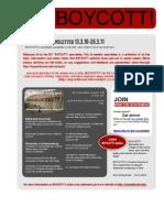 BOYCOTT! Newsletter #53