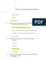 Monetary Policy Worksheet