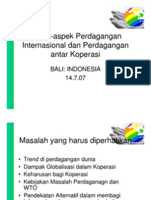 opsi forum perdagangan indonesia