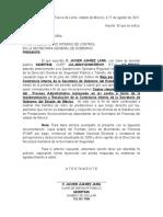 OFICIO JAVIER JUAREZ LARA 1