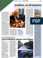 Festival del Giornalismo, via all'anteprima - Il Resto del Carlino del 27 agosto 2021