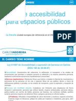 PROPUESTAS PP ACCESIBILIDAD ESPACIOS PÚBLICOS